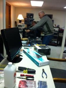 Jeremy's Studio/workshop